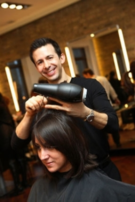George Gonzalez, the owner of George the Salon Chicago