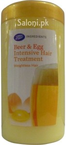 Saloni Product Review – Boots Beer & Egg Intensive Hair Treatment