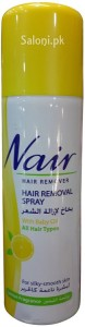 Saloni Product Review – Nair Hair Removal Spray with Baby Oil for Lemon Fragrance