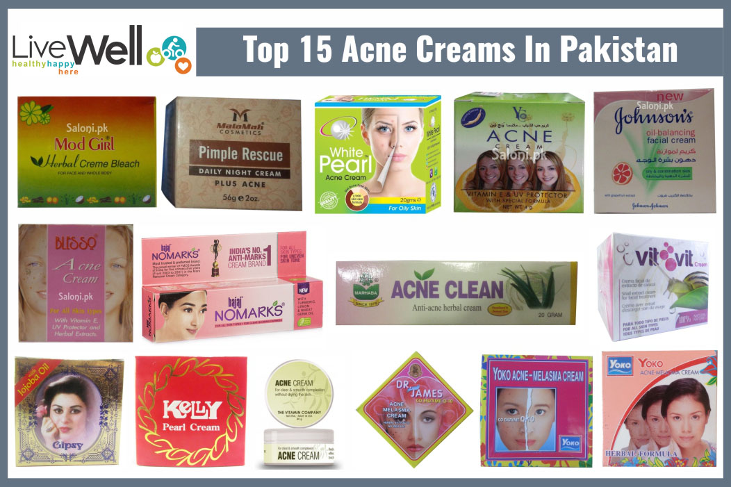 Top 15 Acne Creams In Pakistan