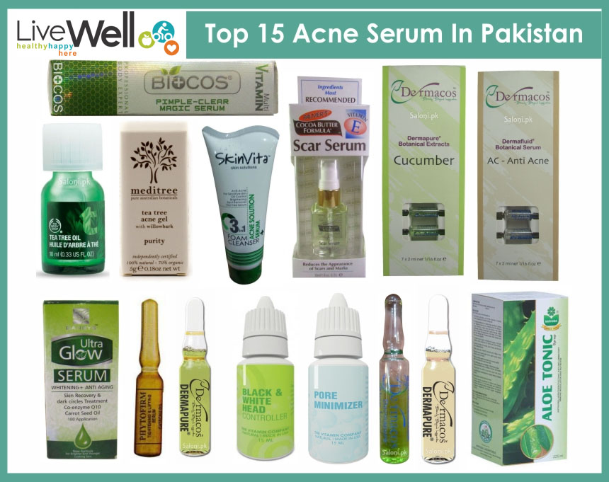 Top 15 Acne Serum In Pakistan