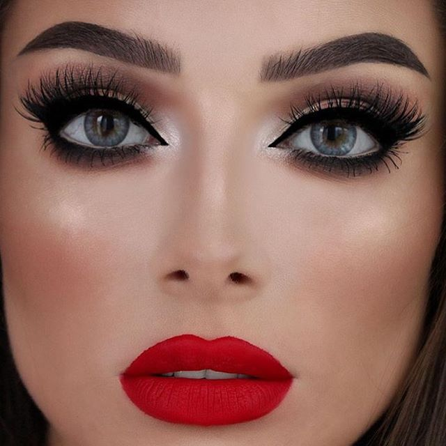 Prom Makeup Ideas For Red Dress Makeup Nuovogennarino